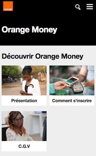 orange money pari sportif