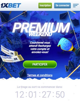 1xbet concours iphone macbook