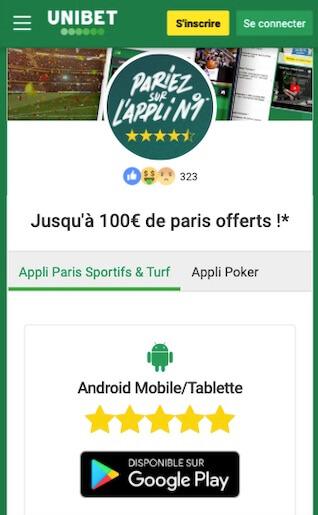 telecharger app unibet apk