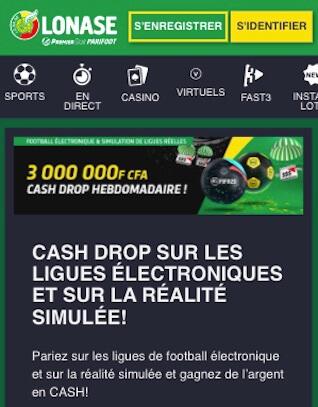 cash drop promo esport premier bet