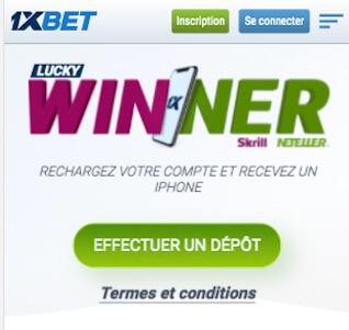 lucky winner 1xbet app
