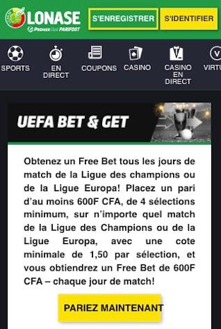 premier bet and get uefa ldc
