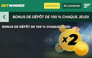 betwinner ligue europa bonus