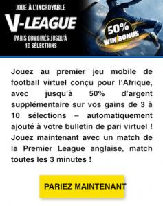 pari virtuel football v-league premier bet