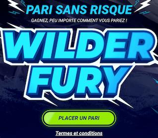 1xBet combat de boxe Wilder vs Fury